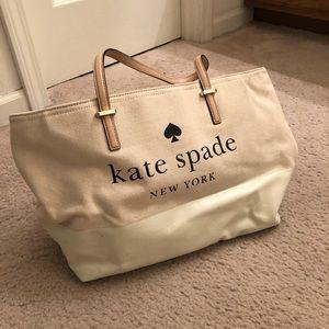 Large Kate spade tote